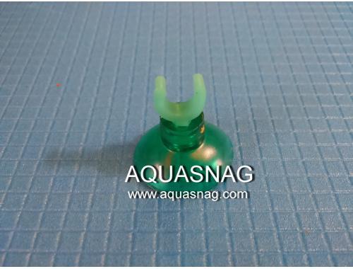 Фото Присоска для зеленых трубчатых распылителей (силиконовая, зеленая типа рогач) Смотреть