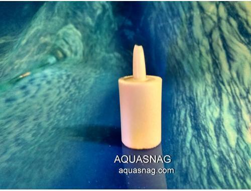 Фото Распылитель цилиндр (2.4*2.6)см, мелкое распыление, белый, ASW-1014 Смотреть