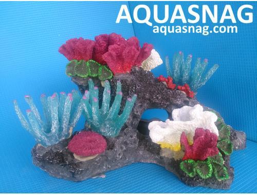 Фото Скала KA -001 с кораллами Купить