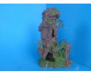 Скала полая с деревцами KD--041