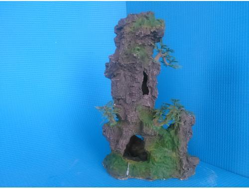 Фото Скала полая с деревцами KD--041 Купить