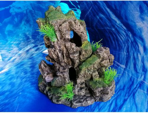 Фото Скала с деревцами СН-5088 aquasnag.com