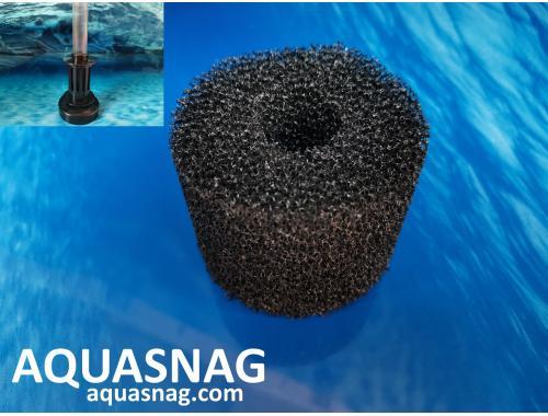 Фото Сменная губка  Professional  на аэрлифт  XY-2836 (размер мочалки: d-7см, h-8см), среднепористая aquasnag.com