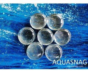 Стеклянные камушки марблс, прозрачные, набор из 7шт