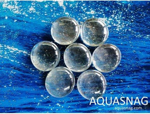 Фото Стеклянные камушки марблс, прозрачные, набор из 7шт Купить