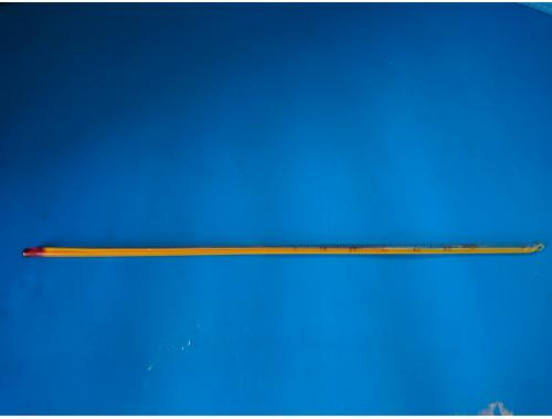 Фото Термометр желтый, тонкий 30см Смотреть