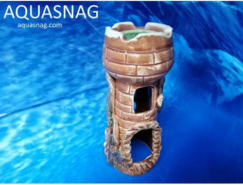 Фото Тура со стеклом мини средняя,  дл 9см, шир 9см, выс 19см aquasnag.com