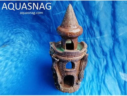 Фото Тура средняя с куполом и со стеклом,  дл 11см, шир 9см, выс 23,5см aquasnag.com