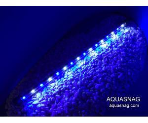 Влагозащищенная диодная  лампа 80 LED, голубая с белым