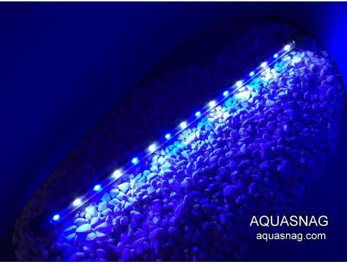 Фото Влагозащищенная диодная  лампа 80 LED, голубая с белым Смотреть