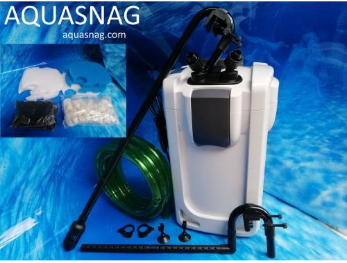 Фото Внешний фильтр SunSun HW-703В 1400л/ч с UV-9W, укомплектован фильтрующими элементами aquasnag.com