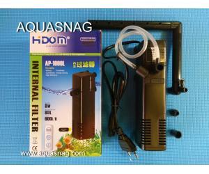Внутренний фильтр HIDOM AP-1000L, 600л/ч, 8W, с регулировкой мощности