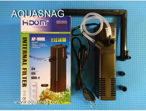 Фото Внутренний фильтр HIDOM AP-1000L, 600л/ч, 8W, с регулировкой мощности aquasnag.com