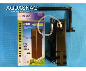 Внутренний фильтр HIDOM AP-1500L,1000л/ч, 22W, с регулировкой мощности