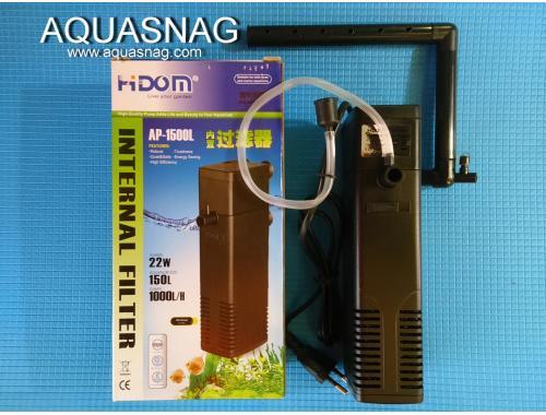 Фото Внутренний фильтр HIDOM AP-1500L,1000л/ч, 22W, с регулировкой мощности Смотреть