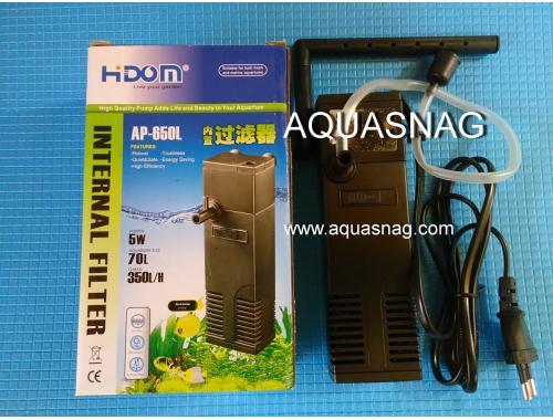 Фото Внутренний фильтр HIDOM AP-650L,350л/ч, 5W, с регулировкой мощности Смотреть