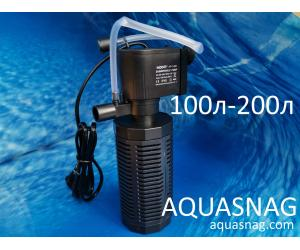 Внутренний фильтр Hidom AP-1200L от 100 до 200л,  800л/ч, 13W