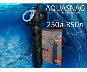 Внутренний фильтр Hidom AP-1600L от 250 до 350л,  1200л/ч, 25W