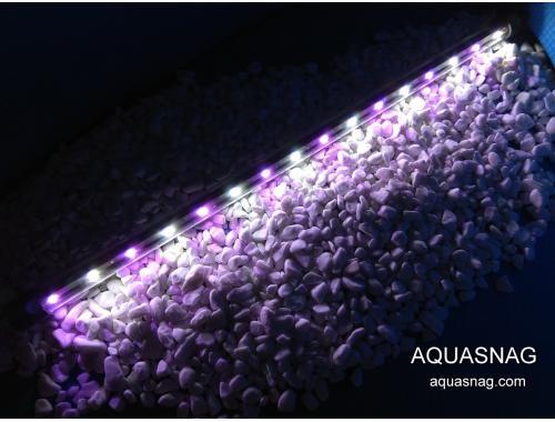 Фото Водонепроницаемый светильник 118.5см,  розовый с белым спектр, 120 LED Смотреть