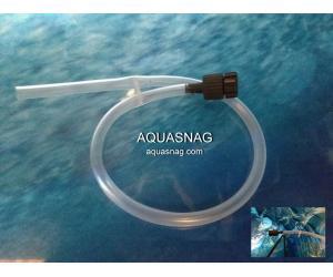Заборник воздуха с регулировкой на фильтра, головоки, помпы, 4мм
