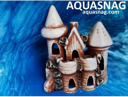 Фото Замочки возле камня,  дл 16см, шир 13см, выс 19см, коричневый aquasnag.com