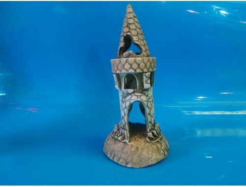 Фото Замок мини одинарный, d-6см, h-15см aquasnag.com