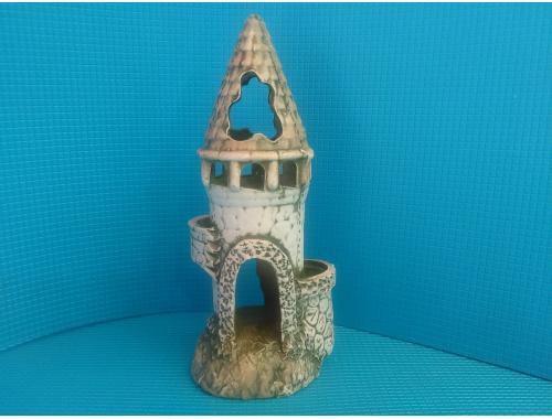 Фото Замок с черепицой д-12см, ш-10см, в-26,5см aquasnag.com