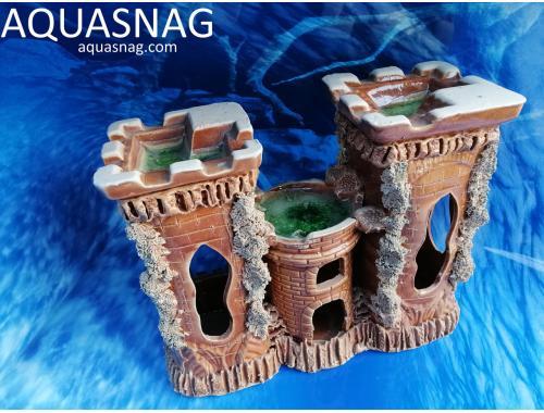 Фото Замок тройной большой,  дл 26см, шир 10см, выс 20см aquasnag.com